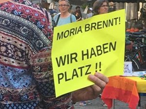 Kundgebung: Moria brennt!