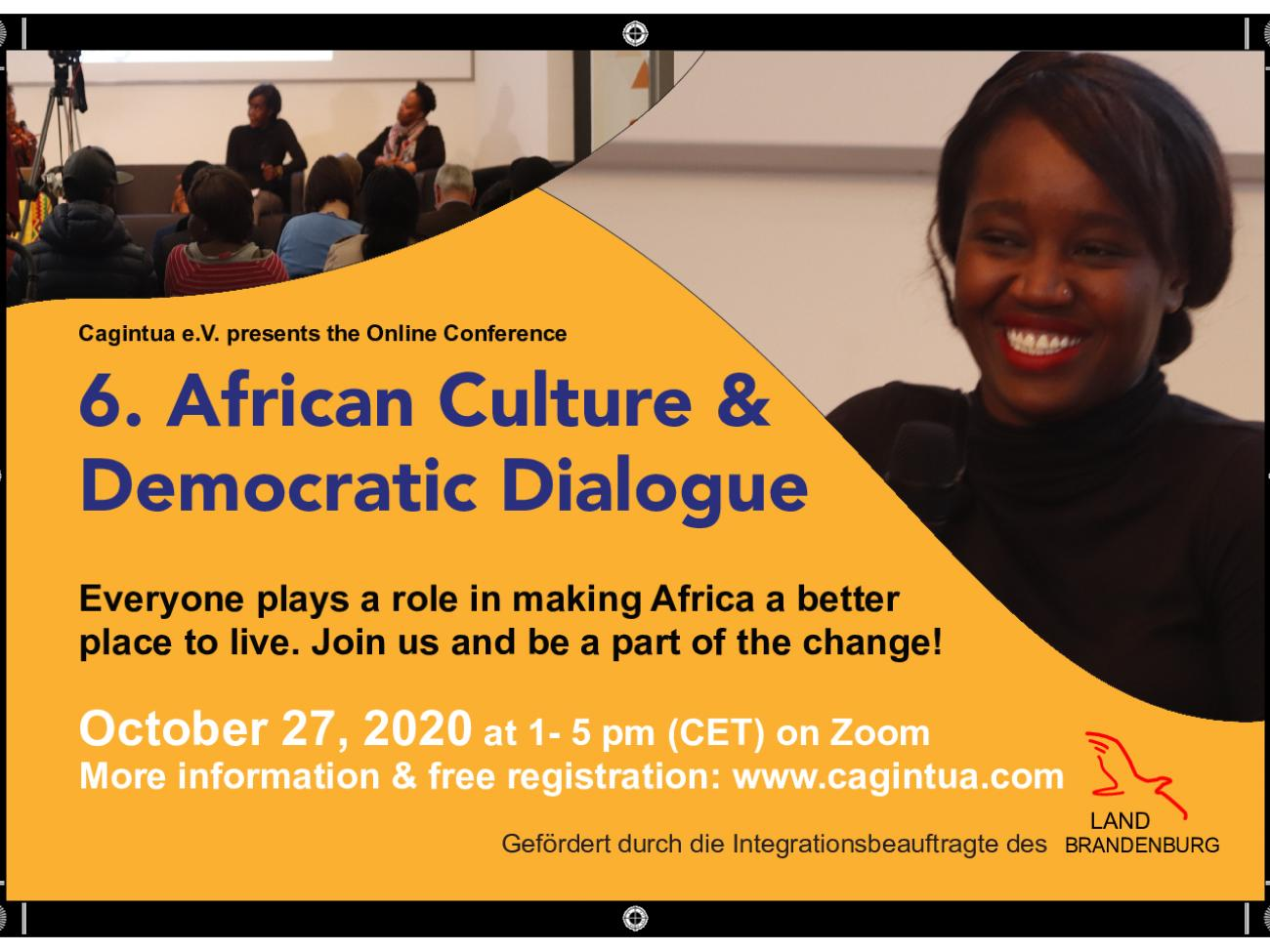6. African Cultural and Democratic Dialogue