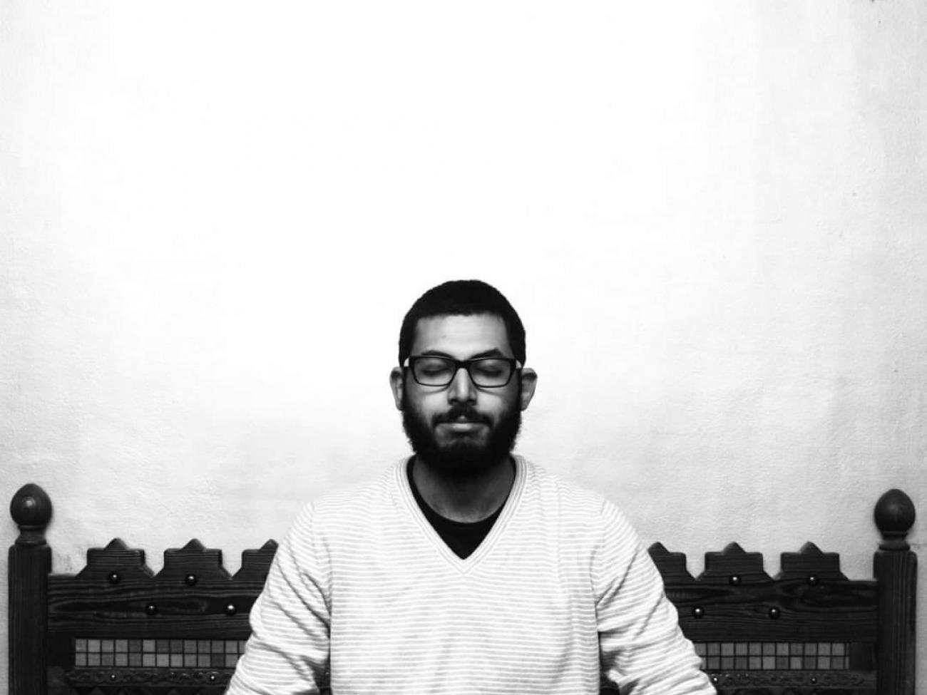 Porträt von Ahmad Arafa