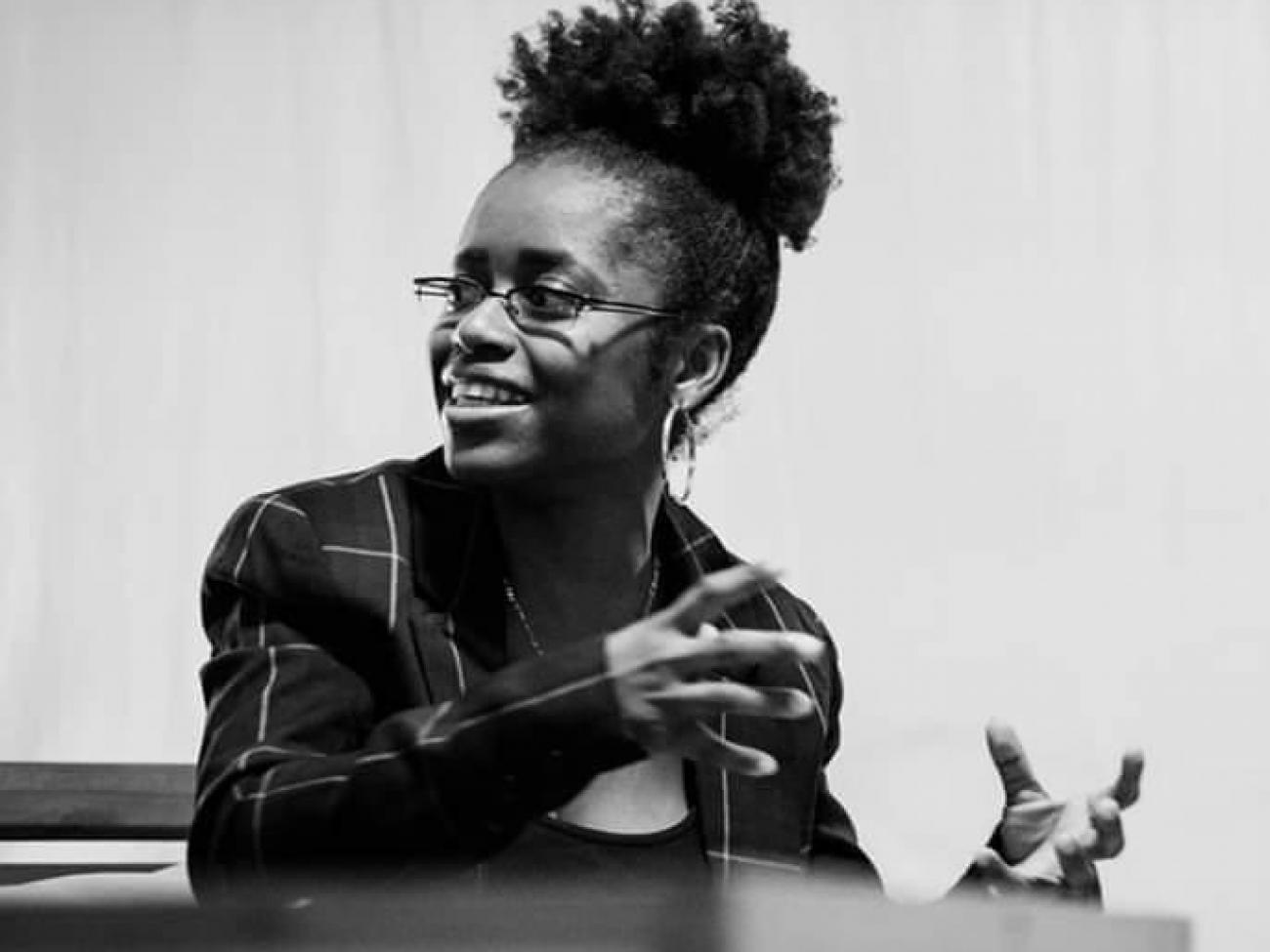 Porträt von Rufine Songue